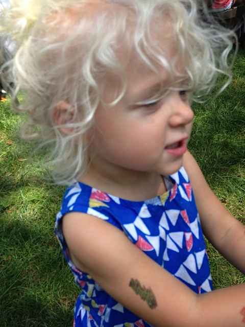The youngest grand-daughter weighs in with an opinion!