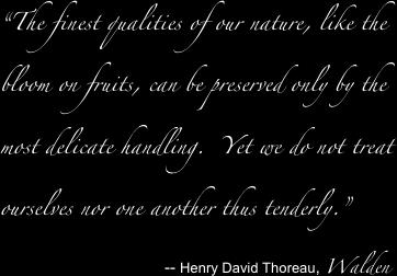 Henry David Thoreau, Walden